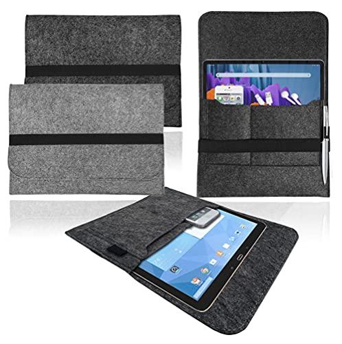 Funda para Samsung Galaxy Tab 4 (10.1) 2014, color gris claro