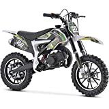 MotoTec 50cc Demon Kids Gas Dirt Bike 2-Stroke Motorcycle Pit Bike...
