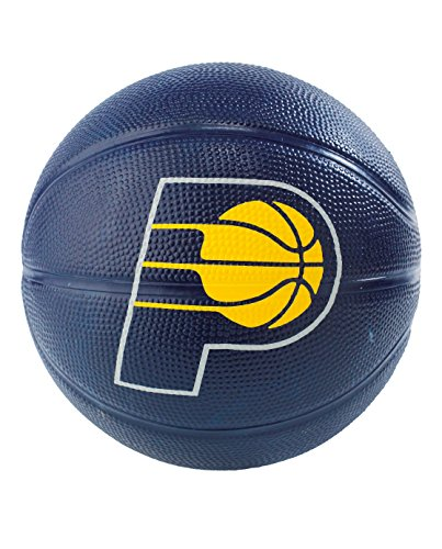 Buy Bargain Spalding NBA Indiana Pacers NBA Primary Team Outdoor Rubber Basketballteam Logo, Navy Bl...