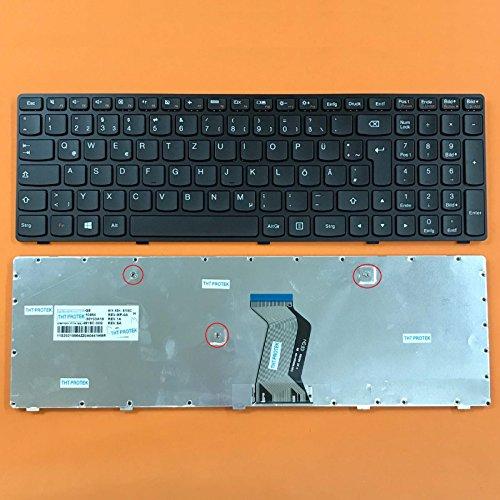 kompatibel mit Lenovo Ideapad G700, G710 Tastatur - Farbe: schwarz - Deutsches Tastaturlayout - Version 2