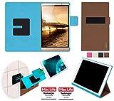 reboon Hülle für Huawei MediaPad M2 8.0 Tablet Tasche Cover Case Bumper | in Braun | Testsieger