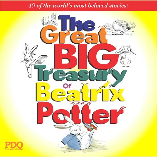 The Great Big Treasury of Beatrix Potter audiobook cover art