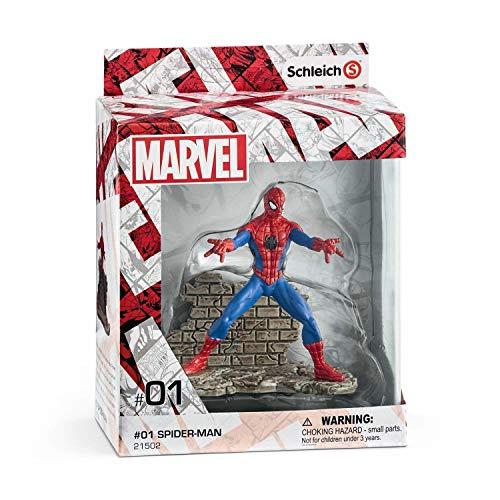 Schleich Marvel - Figura Spider-Man, 11,2 cm