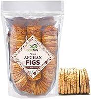 GreenFinity® Premium Afghani Anjeer - 1Kg | Dried Figs | Vacuumed Pack.