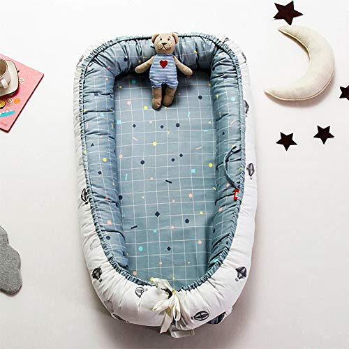 Amazing Deal Baby Nest for Newborn and Babies, Baby Pod Cocoon Double Sided, Baby Bassinet for Bed/L...