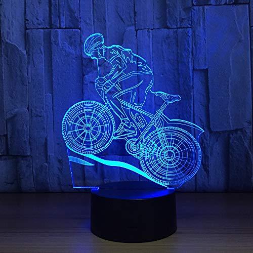 Neon Lights Bar Lámpara de Noche de luz 3D Lámpara de Noche 16 Cambios de Color Luces LED 3D Regalo de cumpleaños Navidad