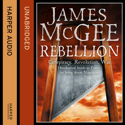 Rebellion audiobook cover art