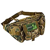 Huntvp Tactical Waist Pack Bag Military Fanny...