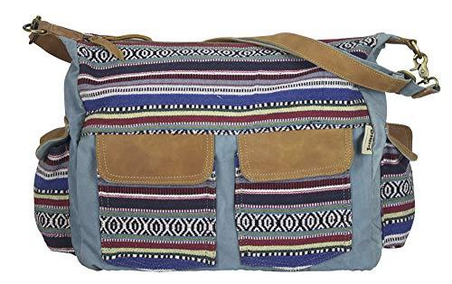 Sunsa damestas schoudertas handtas klein canvas tas met jeans en leer vintage design tiener tassen praktische geschenken tassen voor vrouwen schoudertas damestassen sale