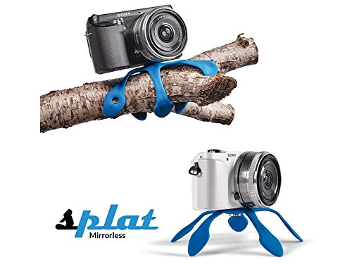 miggo MW SP-CSC BL 20 Stativ Digitale Film/Kameras Blau - Stative (Digitale Film/Kameras, Blau, 1/4