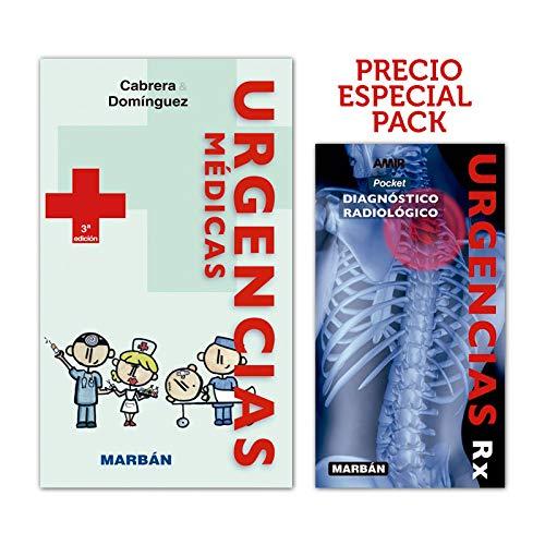 Pack libro Urgencias Médicas (handbook) + Urgencias Rx (pocket)
