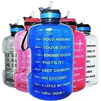 QuiFit 73-oz Motivational Gallon Water Bottle