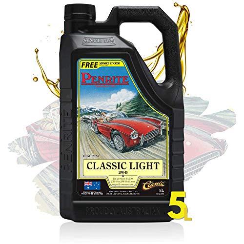 Penrite Classic Light 20W60 Premium Olio Motore Minerale Multigrado   Per Veicoli 1950-1989   Classiche Oldtimer Youndtimer   Benzina Diesel