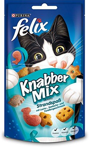 Felix Knabber Mix Katzensnack, 60g