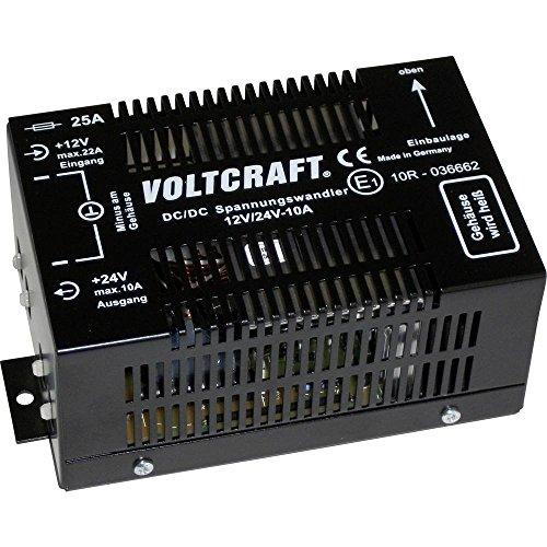Voltcraft 12/10 DC/DC-Wandler 12 V/DC - 24 V/DC/10A 240W