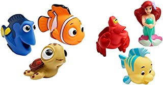 The First Years Disney Baby Bath Squirt Toys, Finding Nemo with Disney Baby Bath Squirt Toys, The Little Mermaid