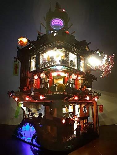 brickled LED Lighting Kit for 70620 The Lego Ninjago Movie Ninjago City (Lego Set not Included)