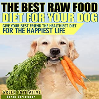 Raw Dog Food Diet Guide audiobook cover art