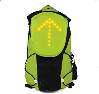 iHuniu LED Turn Signal Light Reflective Vest Backpack/Waist Pack/Business/Travel/Laptop/School Bag Sport Outdoor Waterproo...