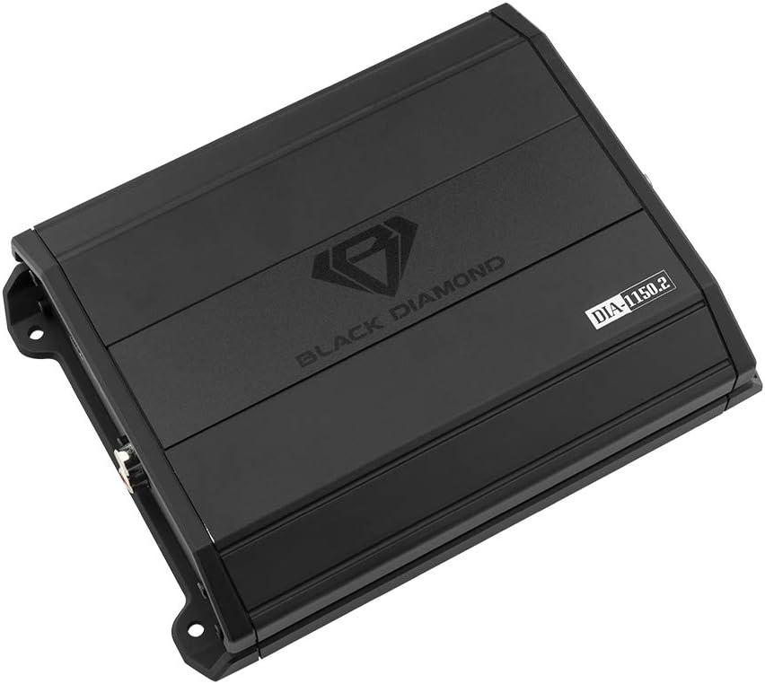 Black Diamond DIA-1150.2 Car Audio Amplifier Full Range