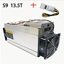 In Stock New Generic AntMiner S9 13.5T Bitcoin Miner ASIC BTC Mining Machine With Power Supply
