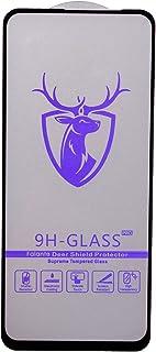 شاشة حماية زجاجية من الزجاج المقوى 2 في 1 اوبو ريلمي 6 برو - اسود