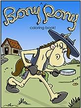A Bony Pony Coloring Book (