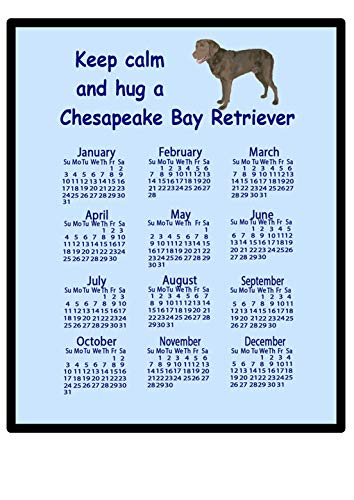 Chesapeake Bay Retriever – 2016 Kalender Mauspad (Keep Calm)
