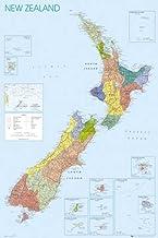 Empire 379788 - Póster con Mapa de Nueva Zelanda (61 x 91,5 cm)