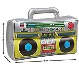 Radio Hinchable de los 80 de 40x20x8 cm