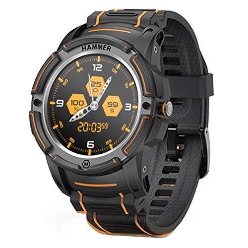 Hammer H Watch Smartwatch Fitness Tracker Reloj Inteligente Impermeable IP68 Pulsera de Actividad Inteligente con Pronóstico del Tiempo de Caloría Pulsómetros Podómetro