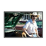 DuanWu Matthew McConaughey Dallas Buyers Club Filmplakat