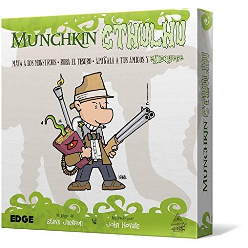 Edge Entertainment Munchkin Cthulhu-Español, Color (EESJMC01)