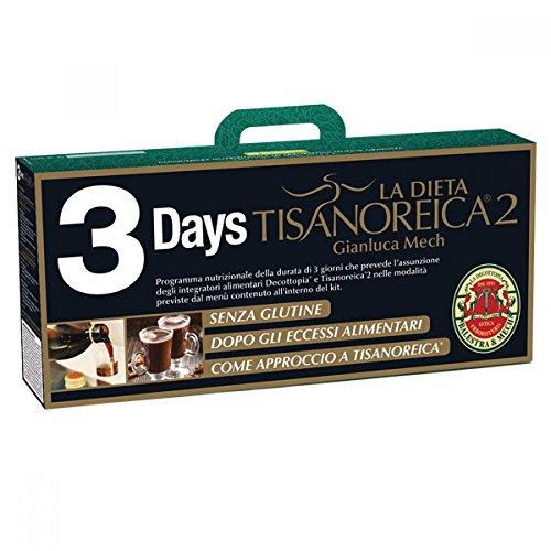 La Dieta Tisanoreica 2 Balestra & Mech Kit 3 Days Start Senza Glutine