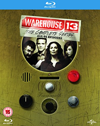 Warehouse 13: The Complete Series [Blu-ray] [UK Import] [Region Free]