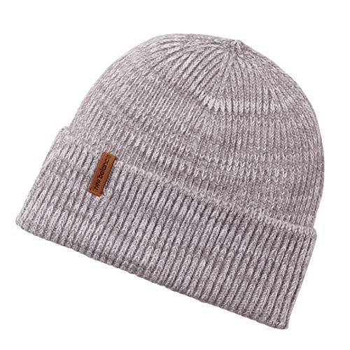 New Balance Oversized Watchman's Beanie Knit Hat