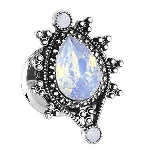 beyoutifulthings Mujer Hombre Niños Unisex Acero Inoxidable Opal