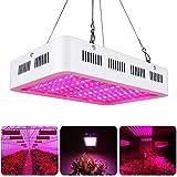 Esbaybulbs 1000W LED Lámpara de IA Planta de Espectro Completo Crece IA Luz de la Planta Grow Light Ligera para Plantas de Interior Verdura Flores