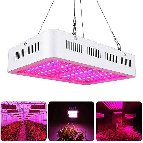 1000W LED Pflanzenlampe Vollspektrum Pflanzenlicht LED Grow Lampe für Gewächshaus Pflanze, Zimmerpflanzen, Gemüse, Blumen, Obst