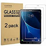 TANTEK [2-Pack] Screen Protector for Samsung Galaxy Tab A 10.1 2016(SM-T580/T585, NOT for 2019 Model),Tempered Glass Film,Ultra Clear,Anti Scratch,Bubble Free