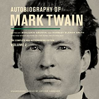 Autobiography of Mark Twain, Vol. 2 cover art