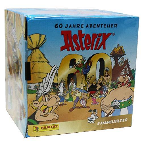 Unbekannt Panini 60 Jahre Asterix - Sammelsticker - 1 Display (50 Tüten)