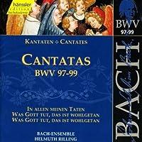 Bach Cantatas BWV 97-99 (1999-10-19)
