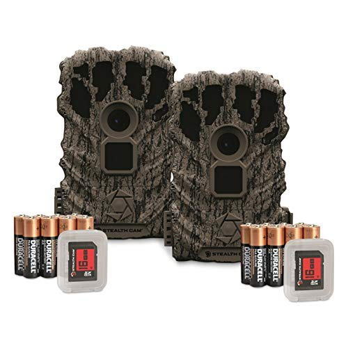 Stealth Cam BT2 Trail/Game Camera Combo Pack, 14MP, 2 Pack