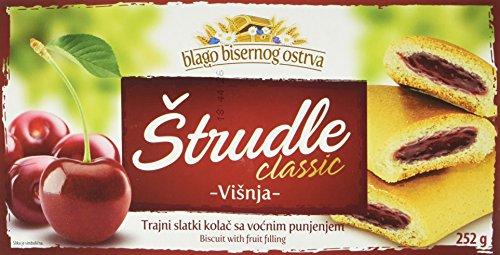 Zitoprerada Strudel mit Sauerkirsche Teegebäck (1 x 252 g)