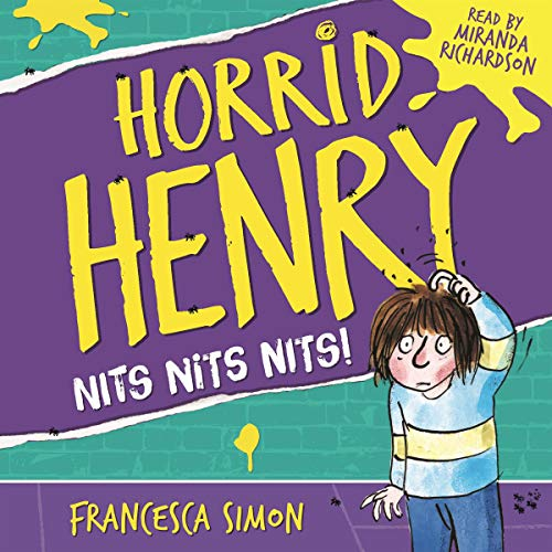 Horrid Henry's Nits audiobook cover art