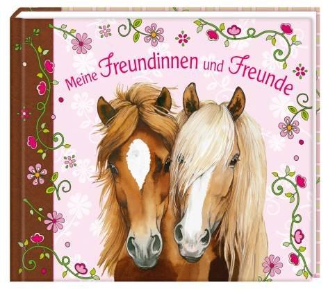 Coppenrath 8025 Meine Freundinnen und Freunde - Eintragbuch Pferdefreunde