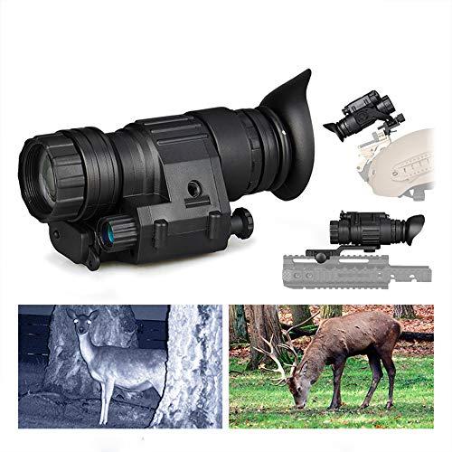 W&HH Digitales Nachtsichtgerät, Infrarot-Nachtsichtgerät, Goggle IR-Nachtsichtgerät (PVS-14) 200M HD Digitalkamera Wasserdicht Antifog Jagd Für Beobachtungen in Völliger Dunkelheit
