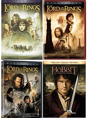 Lord of the Rings Trilogy 8 Disc DVD Set The Fellowship Of the Ring The Two Towers The Return product image
