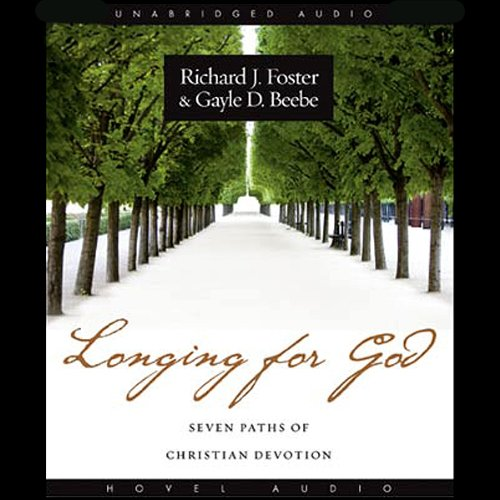 Longing for God audiobook cover art